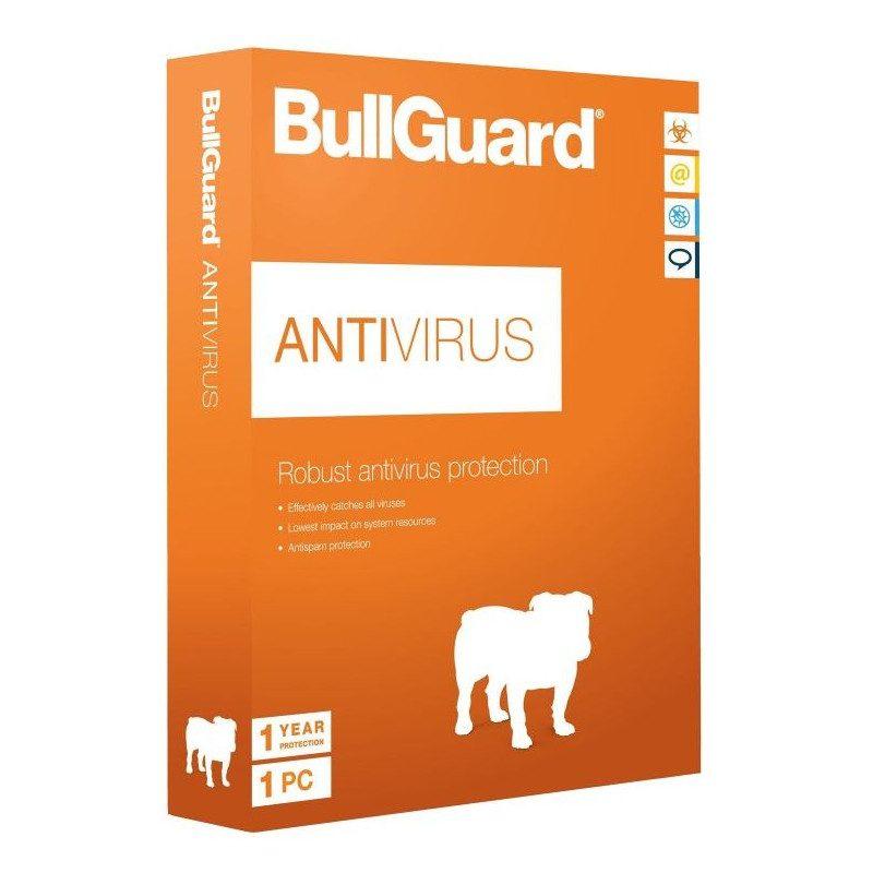 Bullguard antivirus 1 PC - 1 jaar
