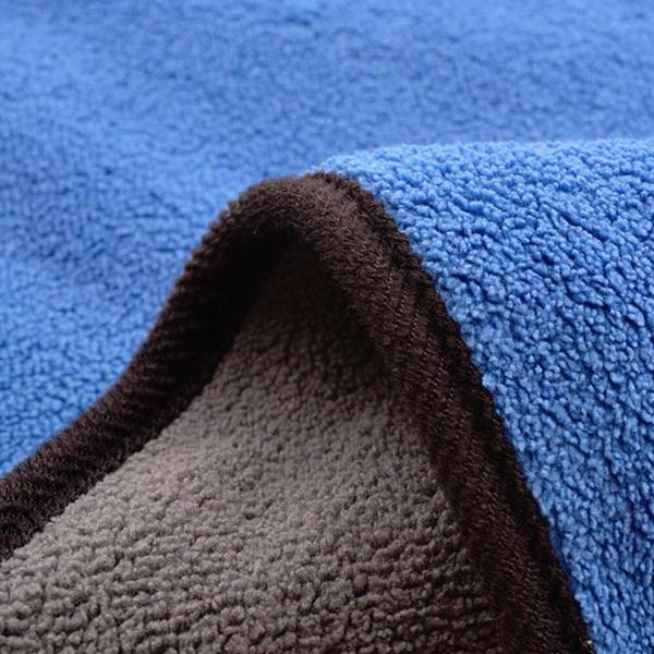 Dikke microvezeldoek - blauw