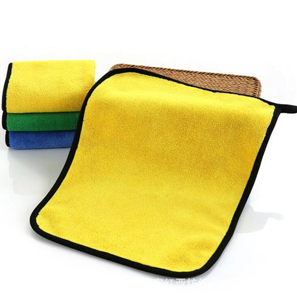 Super absorberende microvezeldoek - geel