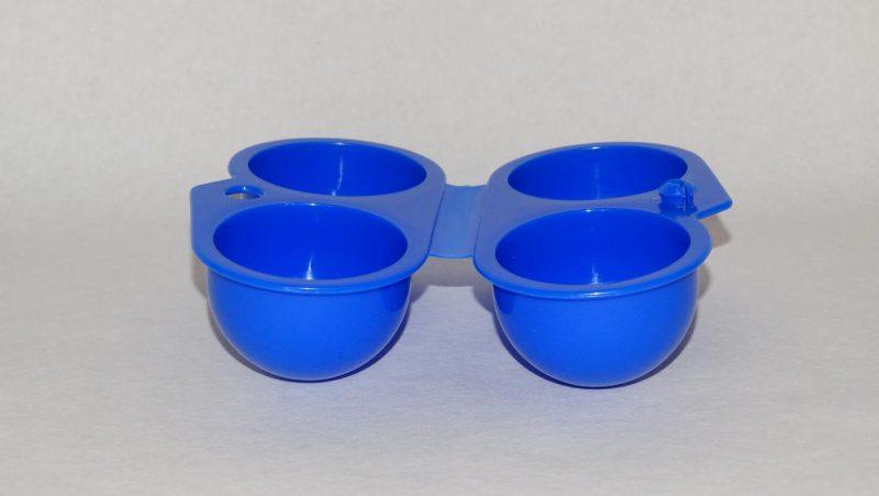 Ei lunchbox - blauw