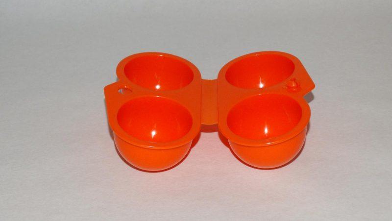 Ei lunchbox - oranje